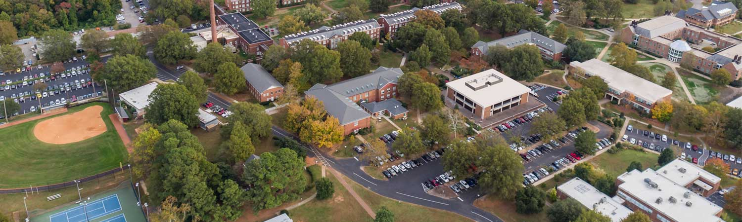 Arial View of Johnson Hall