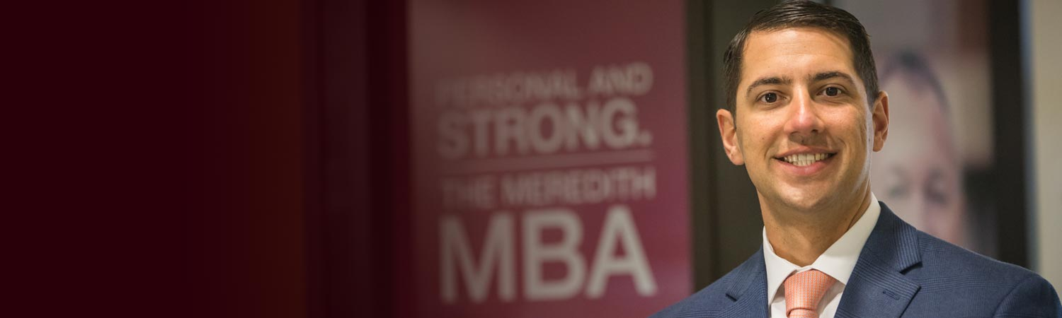 Male MBA student