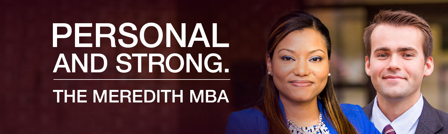 The Meredith MBA program