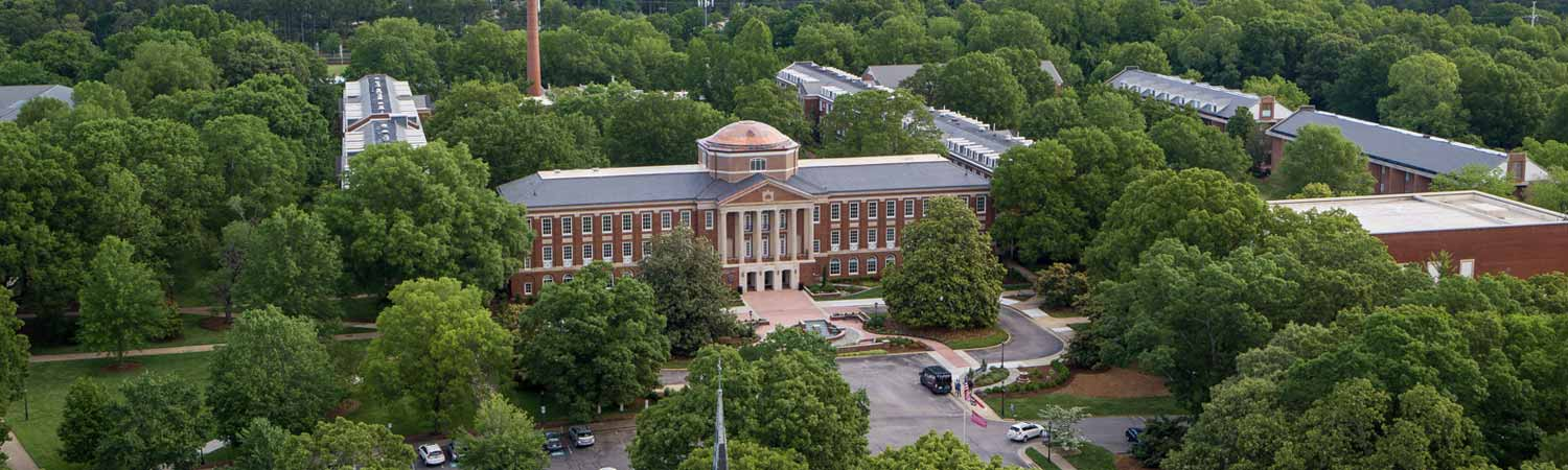Johnson Hall Arial View