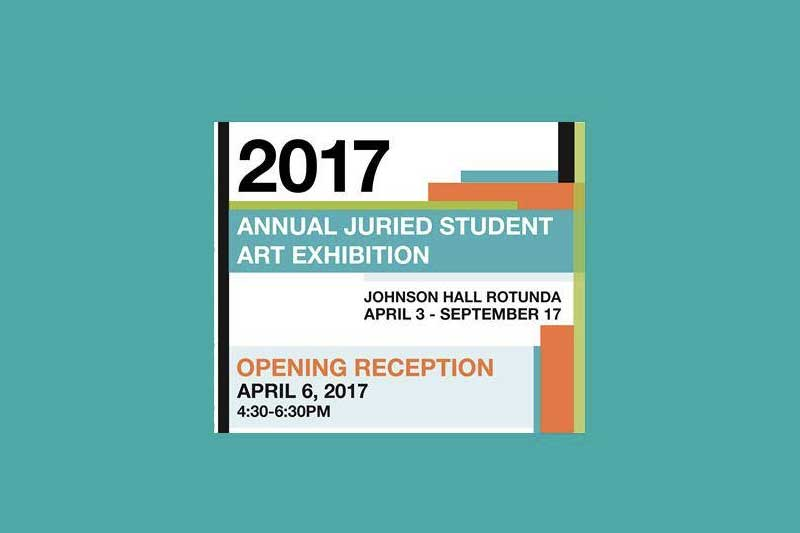 Annual Juried Student Art Exhibition 2017