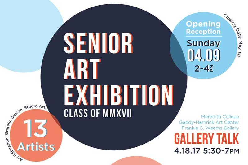 Senior Art Exhibition 2017