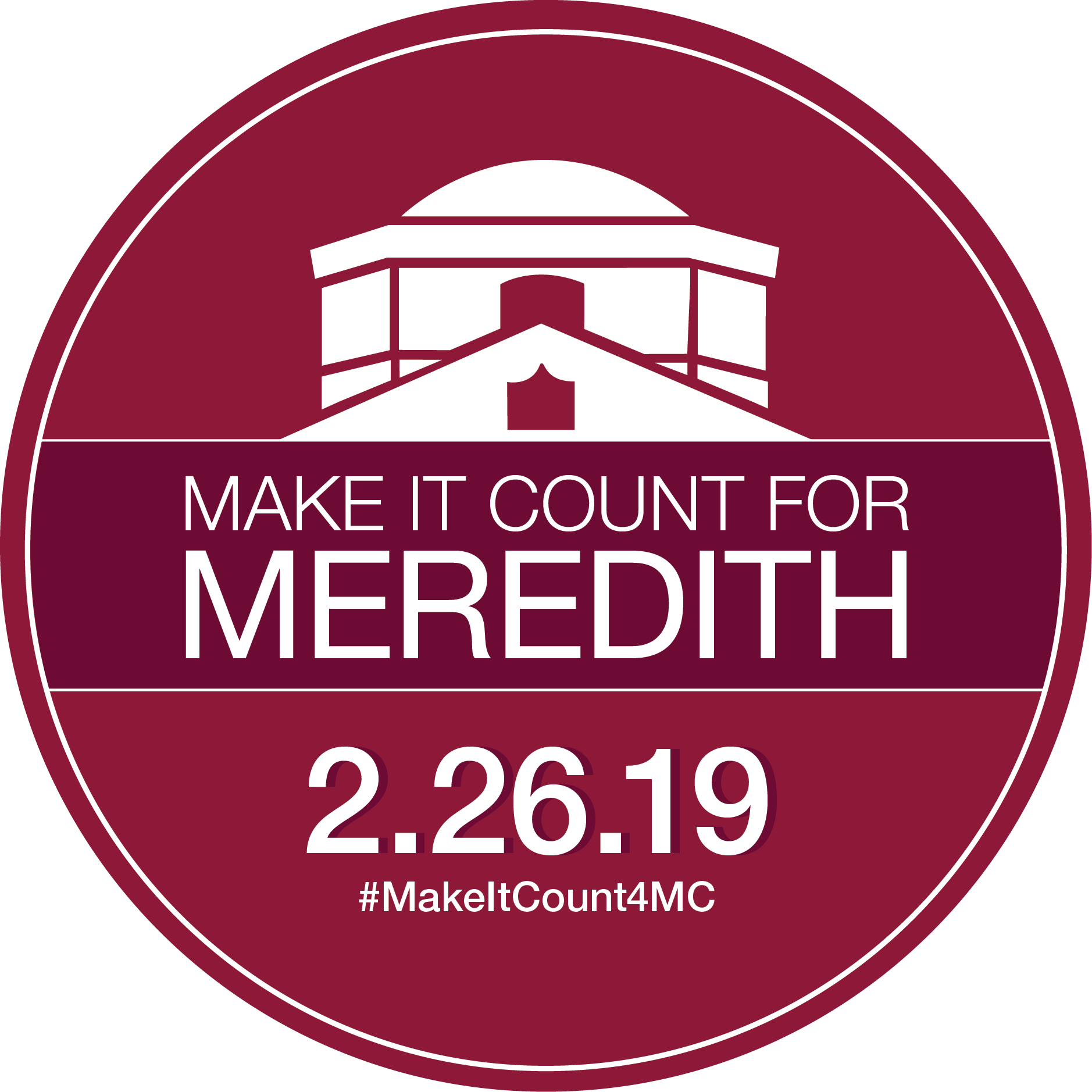 Make it count for Meredith February 26 2019