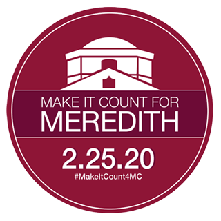 Make it Count For Meredith Graphic - Make Your gift By Clicking the image