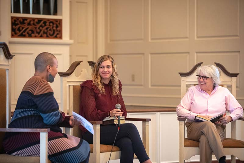 Judy Blume Discussion in Jones Chapel