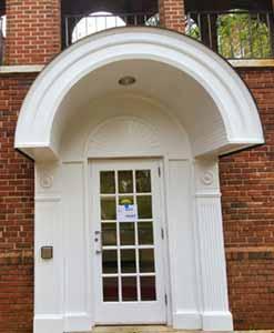 Lower Belk Dining Hall Doors