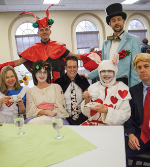 Faculty who participated in Alice in Wonderland production