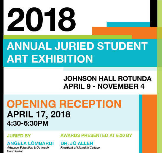 Annual Juried Student Art Exhibition 2018 - Image 1