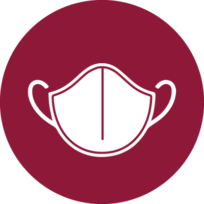 Graphic of Face Mask for Covid