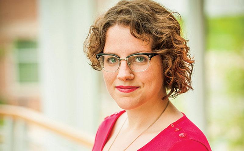 Legacy Scholar Amy Hruby, '13