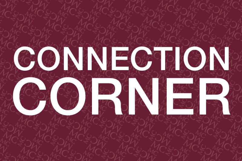 Connection Corner graphic