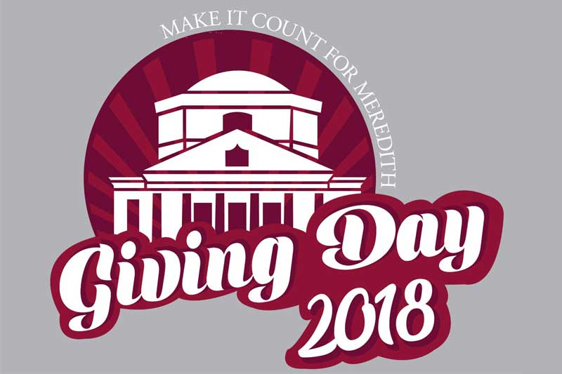 Make It Count For Meredith. Giving Day 2018