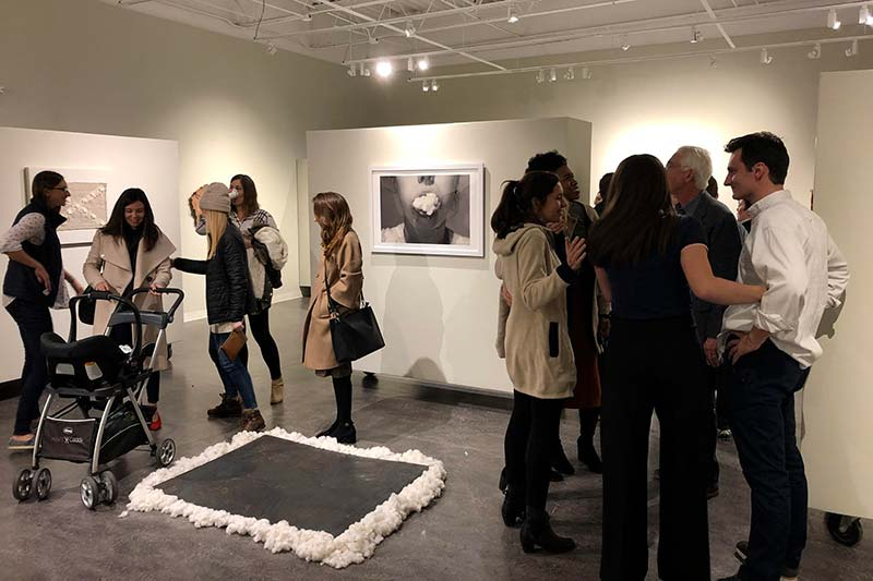Meredith Artists in Residence Exhibit Work