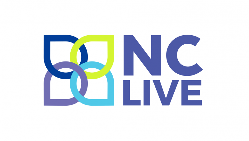 NC Live logo -- interlocking circles and the words NC Live in purple