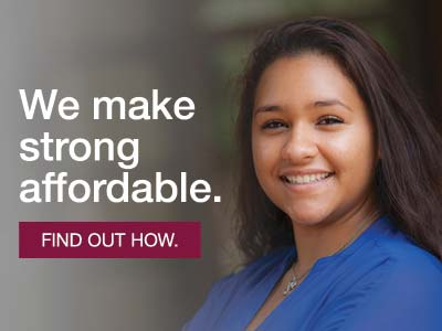 We make strong affordable. Find out how.