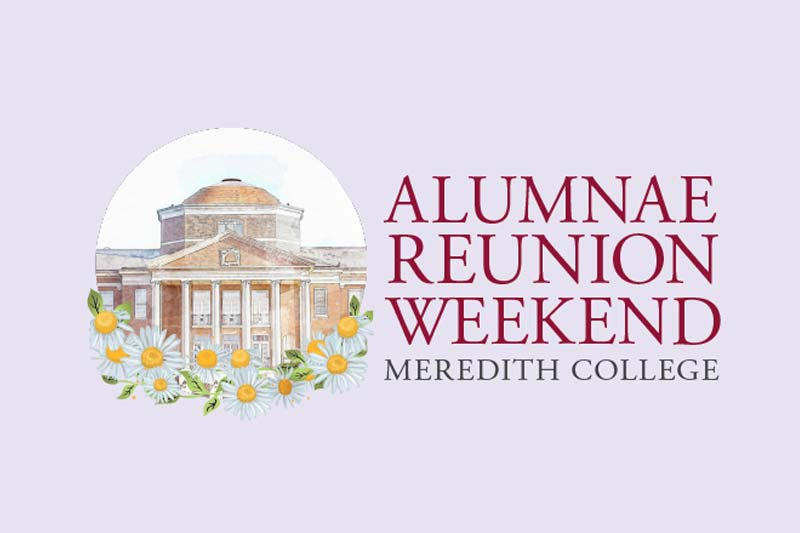 Alumnae Reunion Weekend Graphic