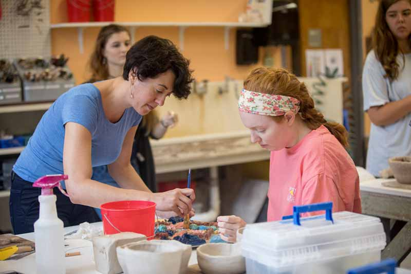 Ceramics class with Holly Fischer