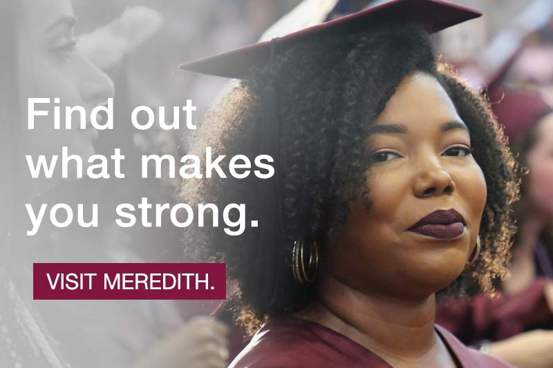 Find out what makes you strong. Visit Meredith.