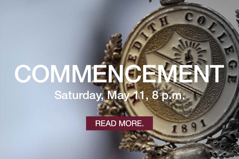 Commencement Saturday, May 11, 8 p.m. Learn more.
