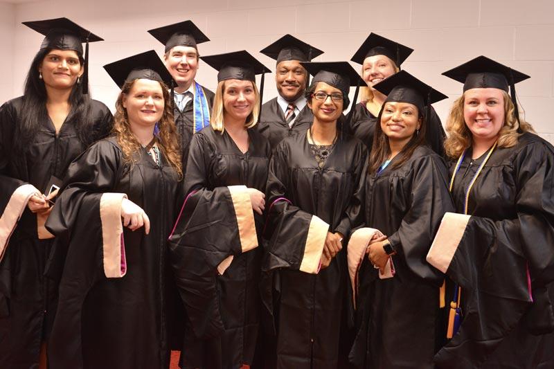 MBA Graduates in Dorton Arena