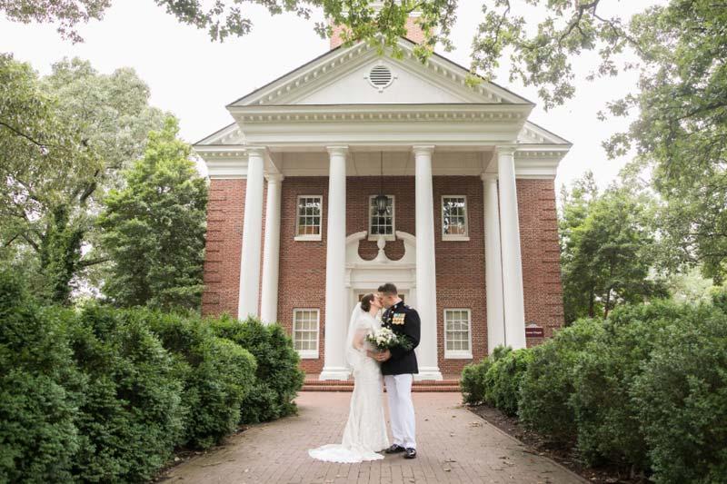 Wedding in Jones Chapel