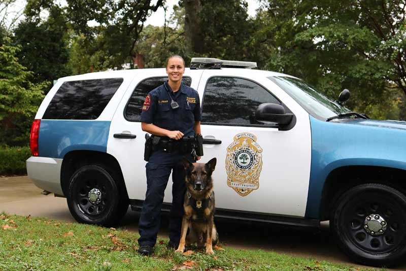 Raleigh Police K-9 unit