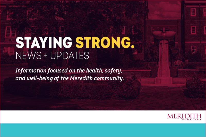 Staying Strong News Graphic