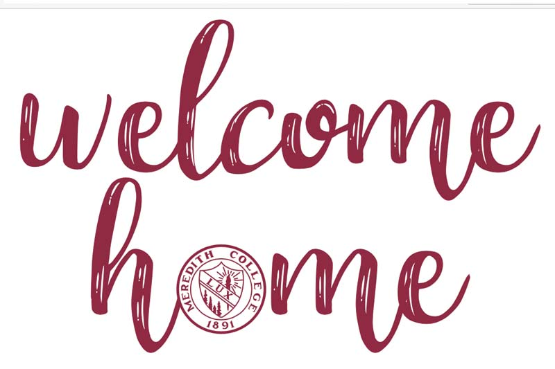 The Words Welcome Home with the Lux logo in place of the O