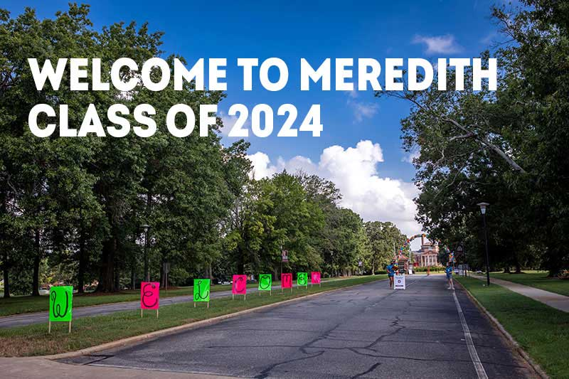 Welcome Class of 2024