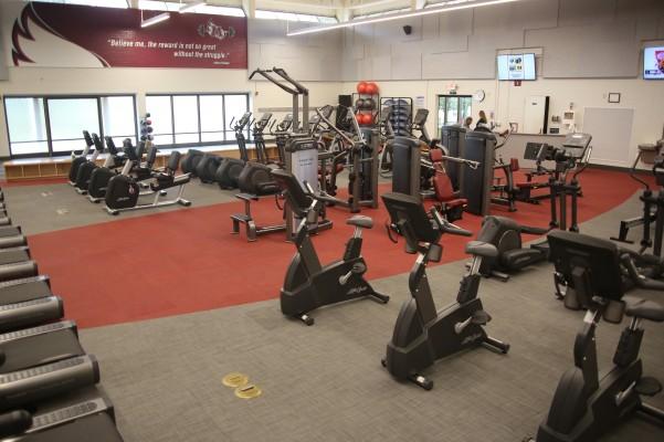 Bike Machines in Lowery Fitness Center