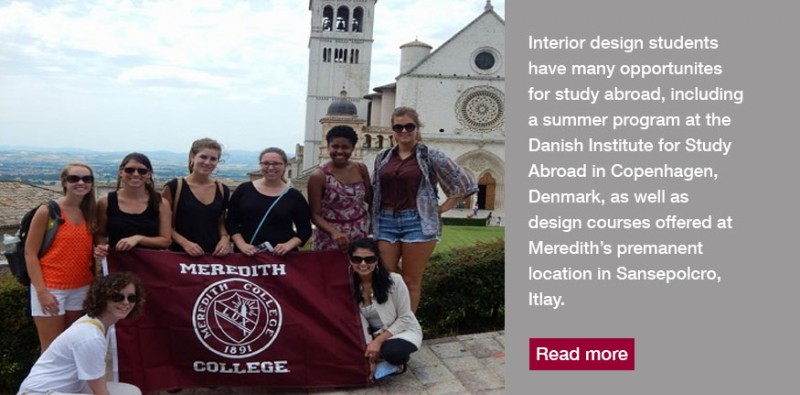 Interior Design Students Have Many Opportunities To Study Abroad