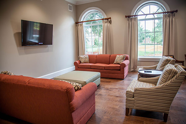 Furnished room in Johnson Hall