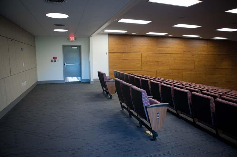 Kresge Auditorium Rear Seating/Standing