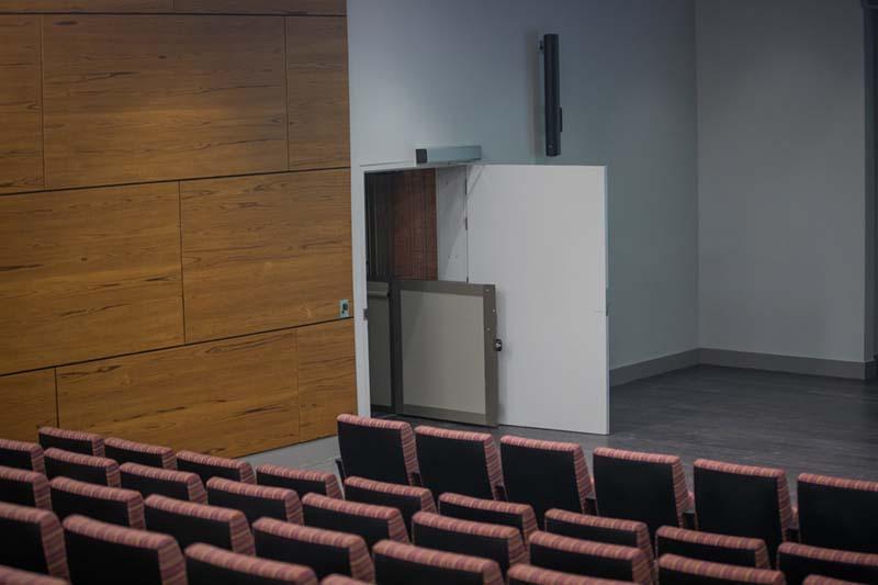 Kresge Auditorium Lower Entrance