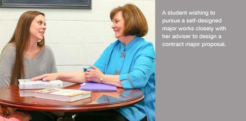 Self-Designed Majors work closely with an adviser to design a contract major proposal