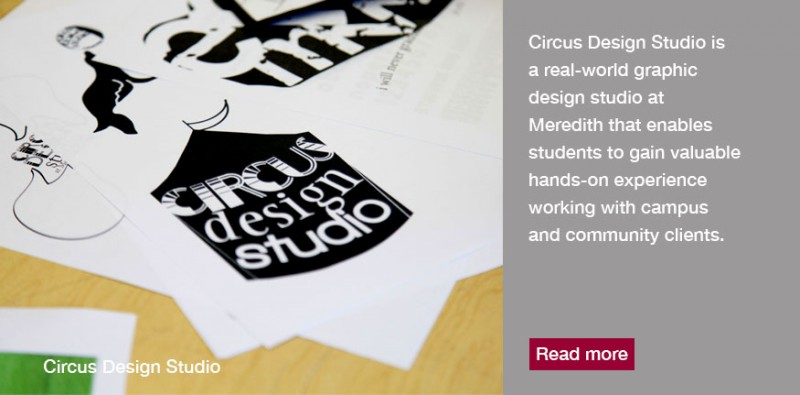 Graphic Design Circus allows students to interact with real clients