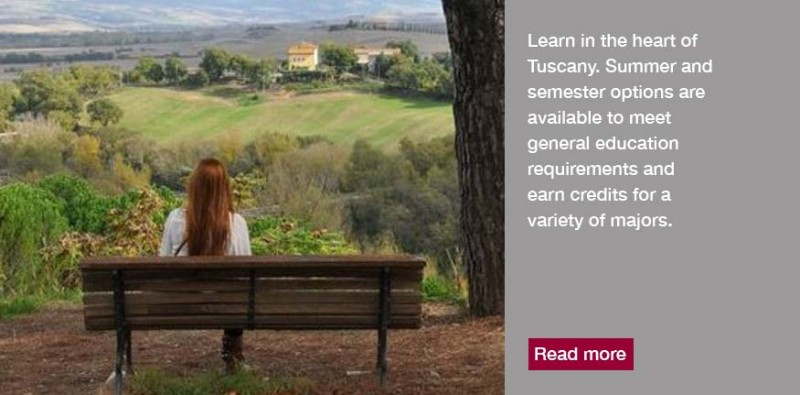 Study Abroad in Tuscany