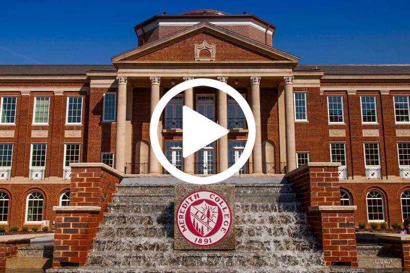 Click on image of Johnson Hall Fountain to watch Beyond Strong Campaign Video in modal