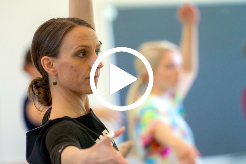 Find out how Carol Finley helps Meredith students prepare for successful careers in dance