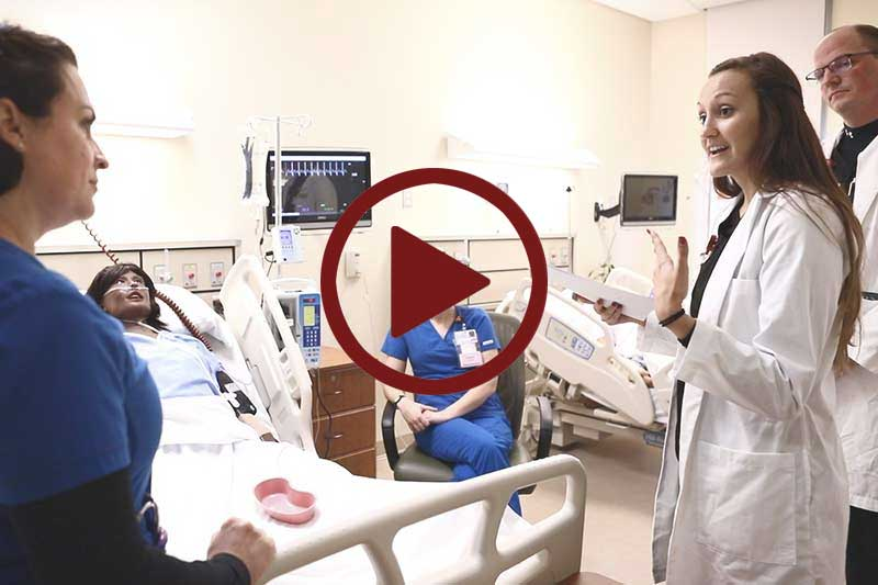 Click to Play Dietetic Internship Simulation Exercise in Modal