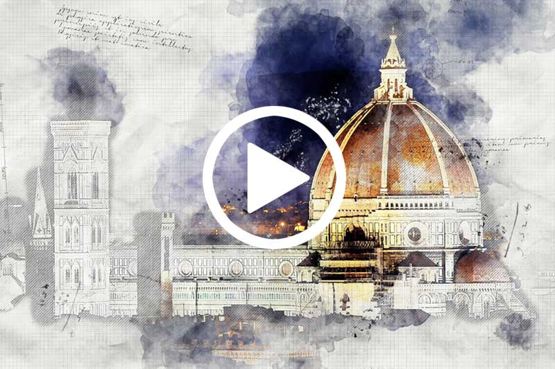Click image to watch video explaining How Was Geometry Used to Build Il Duomo in modal