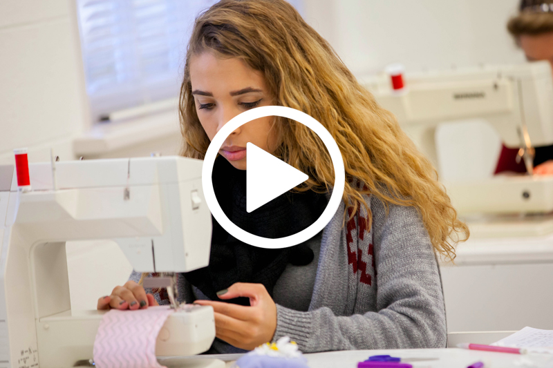 video of Fashion at Meredith College