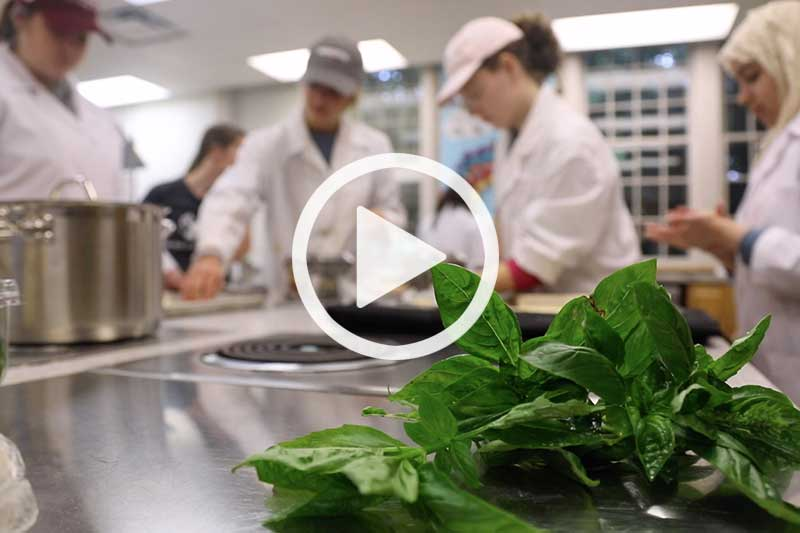 A video about studying Food and Nutrition at Meredith College