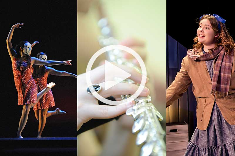 Click to watch a video in modal of Performing Arts at Meredith