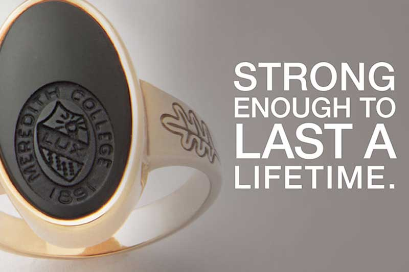 Alumnae Class Ring: Strong Enough to Last a Lifetime