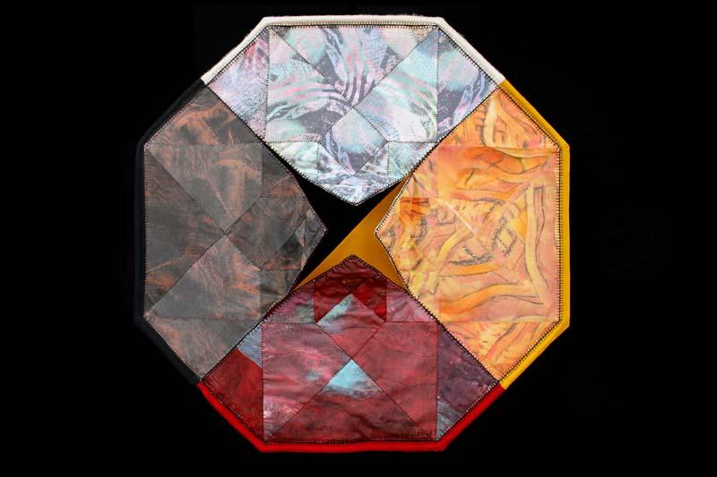 Alyssa Hinton - Tesseract Medicine Wheel Signed Sharp