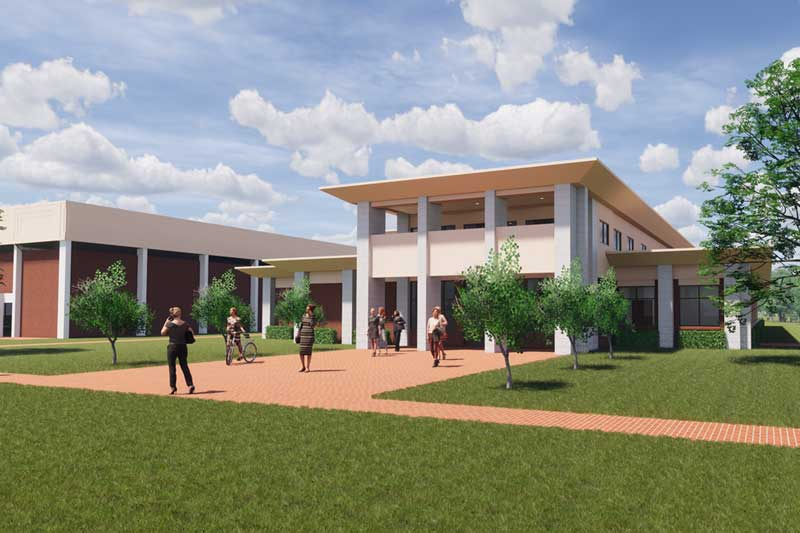 New Communication and ESS Building Rendering