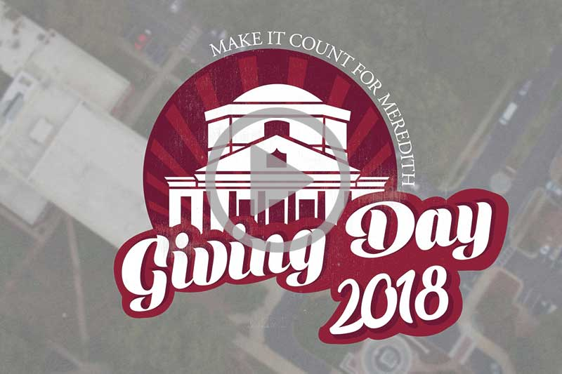 Make It Count for Meredith by honoring the strong woman in your life during our 24 hour Giving Day on February 27, 2018. See why these donors are making gifts to #MakeItCount4MC and help us reach our goal of $350,000.