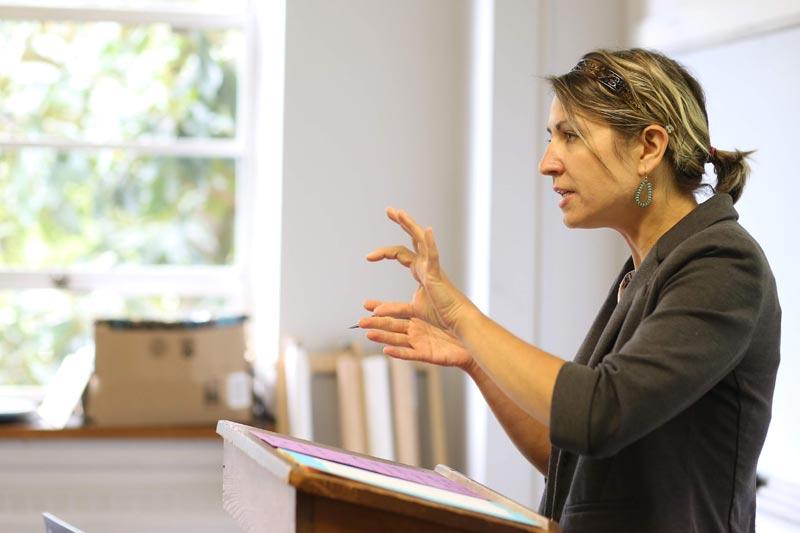 Image of Meredith faculty member teaching