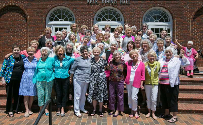 Alumnae Reunion Group Photo